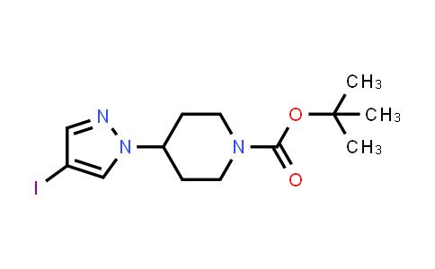 1-Piperidinecarboxylic acid, 4-(4-iodo-1H-pyrazol-1-yl)-, 1,1-dimethylethyl ester