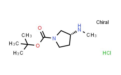 1-Pyrrolidinecarboxylicacid,3-(methylamino)-,1,1-dimethylethylester,(R)-(9CI)