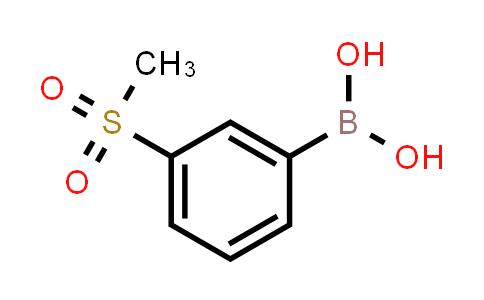 3-(Methylsulfonyl)phenylboronic acid