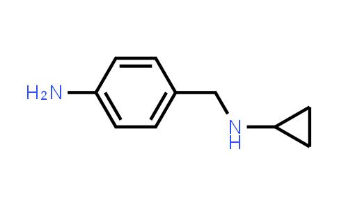 4-Amino-N-cyclopropylbenzenemethanamine
