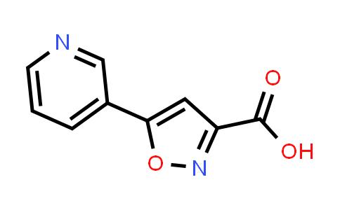 5-(3-Pyridyl)isoxazole-3-carboxylic Acid