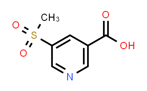 5-(Methylsulfonyl)nicotinic Acid