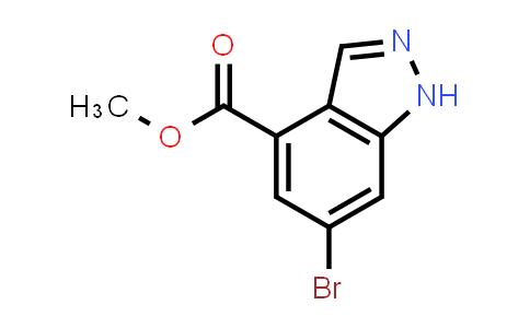 6-BROMO-4-INDAZOLECARBOXYLIC ACID METHYL ESTER
