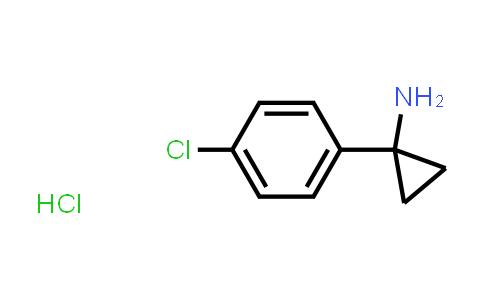 Cyclopropanamine, 1-(4-chlorophenyl)-, hydrochloride (1:1)
