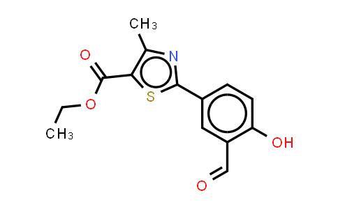 ethyl 2-(3-formyl-4-hydroxyphenyl)-4-methyl thiazole-5-carboxylate