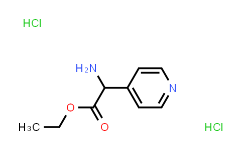 Ethyl2-Amino-2-(4-pyridinyl)acetateDihydrochloride