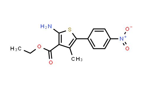 ETHYL 2-AMINO-4-METHYL-5-(4-NITRO-PHENYL)-THIOPHENE-3-CARBOXYLATE