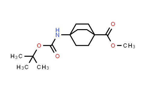 methyl 4-((tert-butoxycarbonyl)amino)bicyclo[2.2.2]octane-1-carboxylate