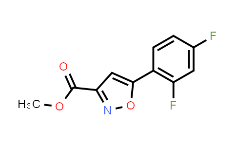 Methyl5-(2,4-Difluorophenyl)isoxazole-3-carboxylate