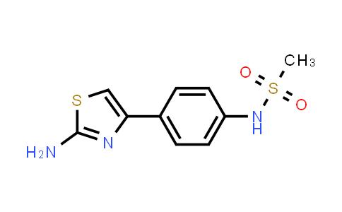 N-[4-(2-AMino-4-thiazolyl)phenyl]MethanesulfonaMide