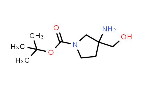 tert-butyl 3-amino-3-(hydroxymethyl)pyrrolidine-1-carboxylate