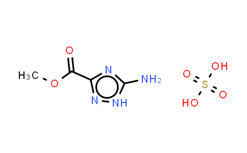 5-Amino-1H-1,2,4-triazole-3-carboxylicacidmethylestersulfate