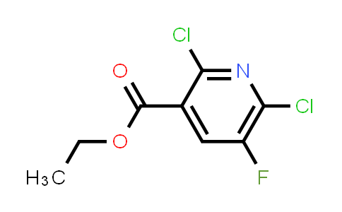 ethyl 2,6-dichloro-5-fluoropyridine-3-carboxylate