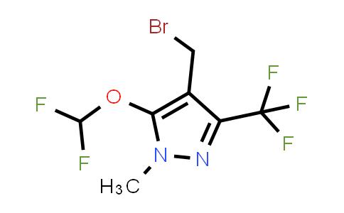 4-Bromomethyl-5-difluoromethoxy-1-methyl-3-trifluoromethyl-1H-pyrazole