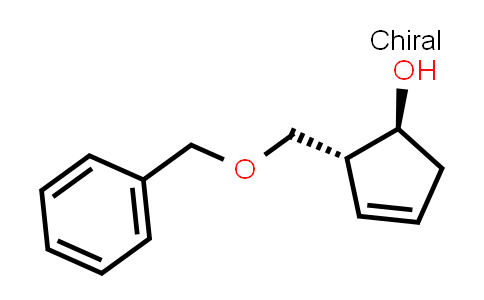 (1S, 2R)-2-(Benzyloxymethyl)-1-hydroxy-3-cyclopentene