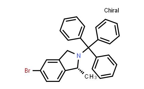 (R)-5-bromo-1-methyl-2-Tritylisoindoline