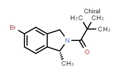 (R)-1-(5-bromo-1-methylisoindolin-2-yl)-2,2-dimethylpropan-1-one
