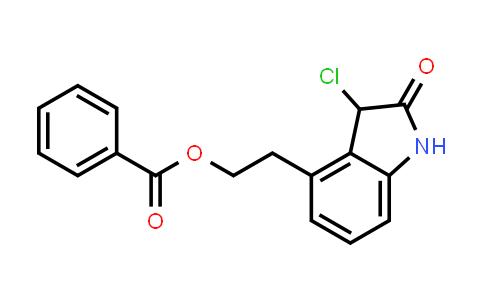2-(3-chloro-2-oxoindolin-4-yl)ethyl benzoate