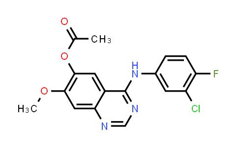 4-(3-Chloro-4-fluorophenylamino)-7-methoxyquinazolin-6-yl acetate