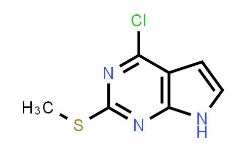 4-chloro-2-(methylthio)-7H-pyrrolo[2,3-d]pyrimidine