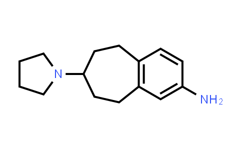7-(pyrrolidin-1-yl)-6,7,8,9-tetrahydro-5H-benzo[7]annulen-2-amine