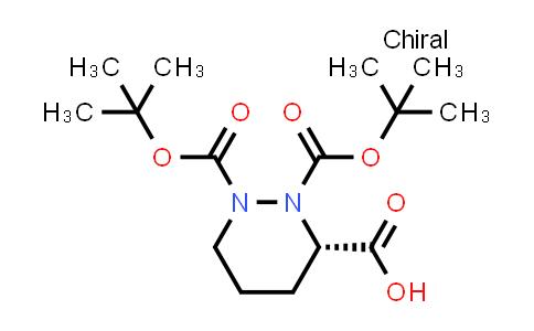 (S)-1,2-bis(tert-butoxycarbonyl)hexahydropyridazine-3-carboxylic acid