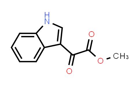 methyl 2-(1H-indol-3-yl)-2-oxoacetate