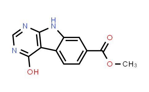 methyl 4-hydroxy-9H-pyrimido[4,5-b]indole-7-carboxylate