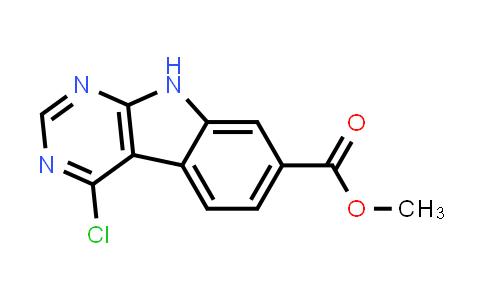 methyl 4-chloro-9H-pyrimido[4,5-b]indole-7-carboxylate