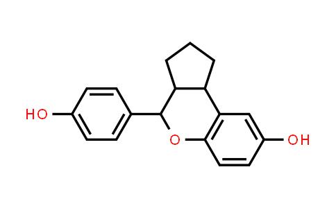 4-(4-hydroxyphenyl)-1,2,3,3a,4,9b-hexahydrocyclopenta[c]chromen-8-ol