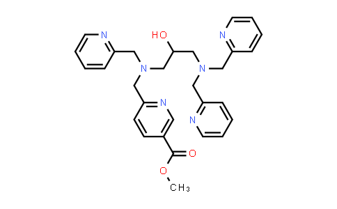 methyl 6-(((3-(bis(pyridin-2-ylmethyl)amino)-2-hydroxypropyl)(pyridin-2-ylmethyl)amino)methyl)nicotinate