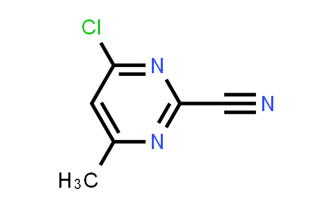 4-Chloro-2-cyano-6-methylpyrimidine