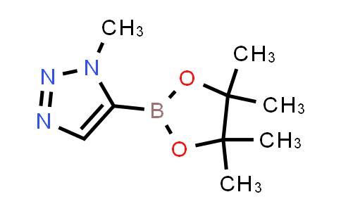 1-Methyl-5-(4,4,5,5-tetramethyl-1,3,2-dioxaborolan-2-yl)-1H-1,2,3-triazole