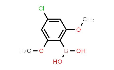 4-CHLORO-2,6-DIMETHOXY PHENYLBORONIC ACID