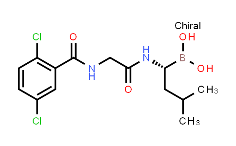 (R)-1-(2-(2,5-dichlorobenzamido)acetamido)-3-methylbutylboronic acid