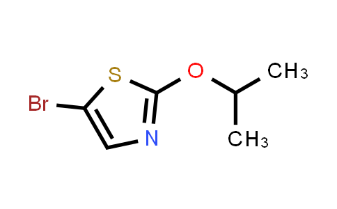 5-bromo-2-propan-2-yloxy-1,3-thiazole
