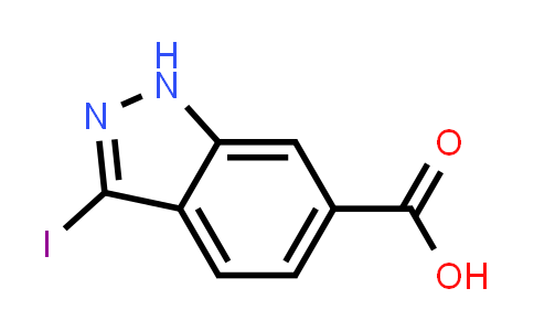 3-Iodo 1H-indazole-6-carboxylic acid