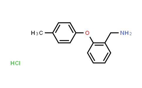 2-(4-METHYLPHENOXY)BENZYLAMINE HCL