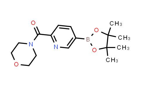 Morpholino(5-(4,4,5,5-tetraMethyl-1,3,2-dioxaborolan-2-yl)pyridin-2-yl)Methanone