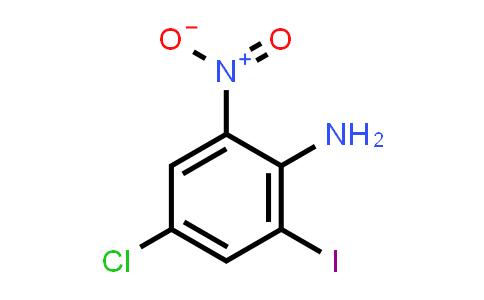 4-Chloro-2-iodo-6-nitro-phenylaMine