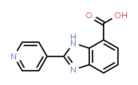 2-PYRIDIN-4-YL-3H-BENZOIMIDAZOLE-4-CARBOXYLIC ACID