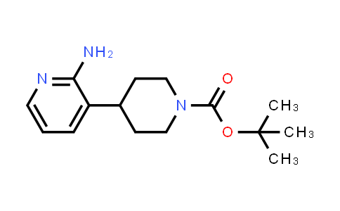 TERT-BUTYL 4-(2-AMINOPYRIDIN-3-YL)PIPERIDINE-1-CARBOXYLATE