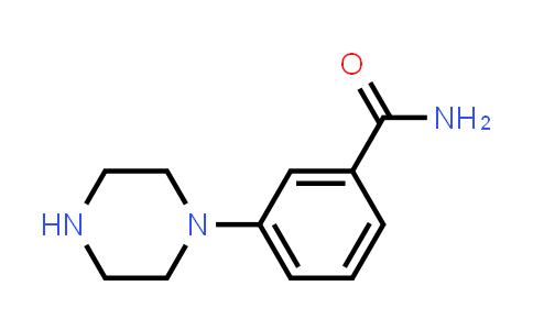 BenzaMide, 3-(1-piperazinyl)-