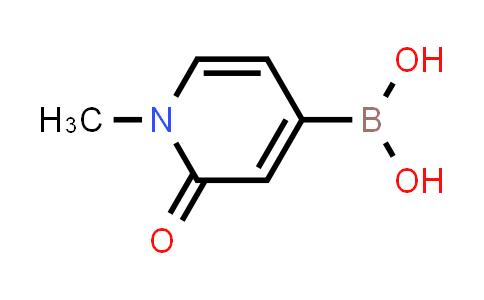 (1-Methyl-2-oxo-1,2-dihydropyridin-4-yl)boronic acid