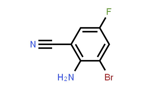 2-Bromo-6-cyano-4-fluoroaniline, 3-Bromo-5-fluoroanthranilonitrile