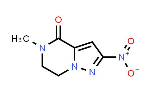 5-Methyl-2-nitro-6,7-dihydropyrazolo[1,5-a]pyrazin-4(5H)-one