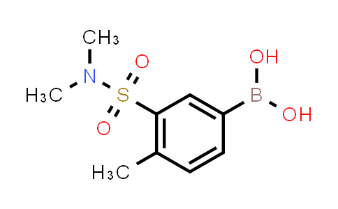 (3-(N,N-diMethylsulfaMoyl)-4-Methylphenyl)boronic acid