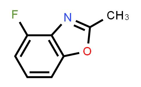 4-Fluoro-2-methylbenzo[d]oxazole