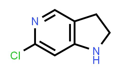 6-Chloro-2,3-dihydro-1H-pyrrolo[3,2-c]pyridine