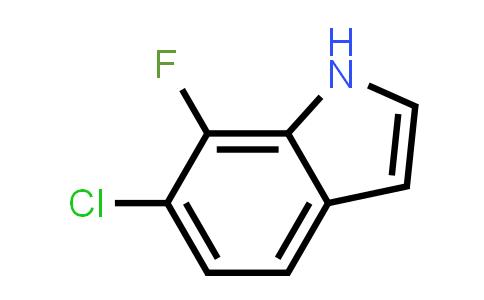 1H-Indole, 6-chloro-7-fluoro-